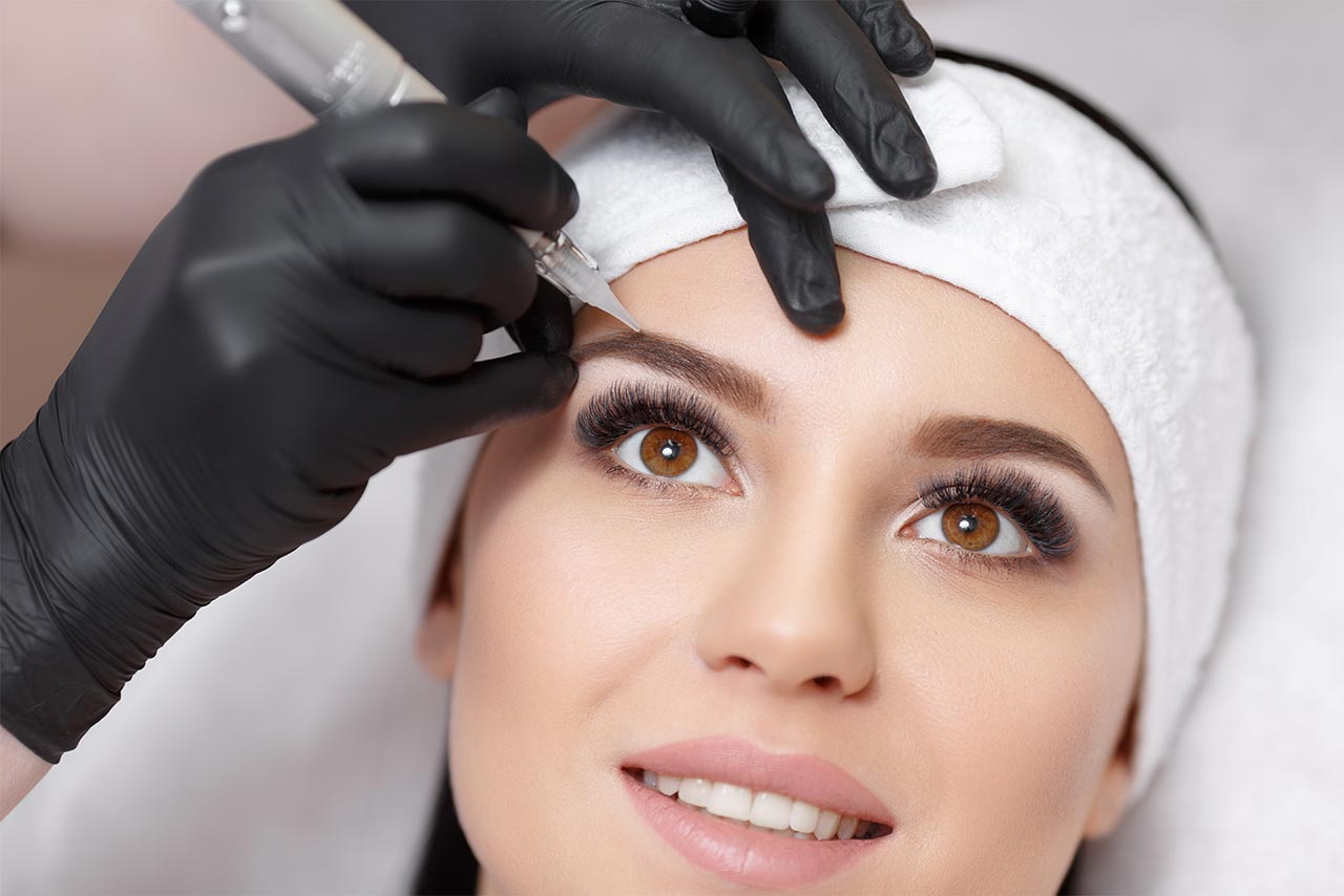 semi-permanent eyebrow procedure